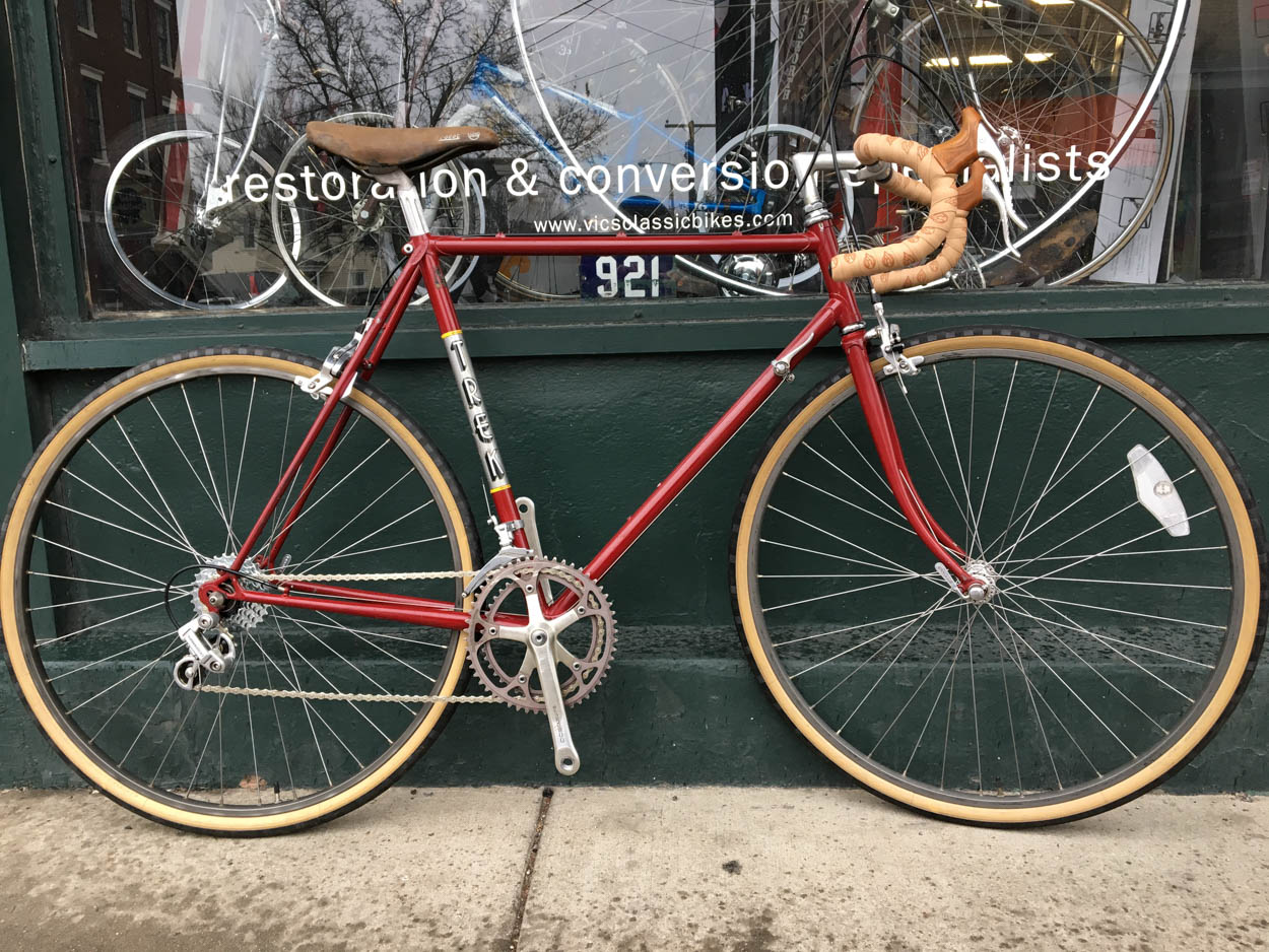 1981 Trek 616 58cm Vic S Classic Bikes
