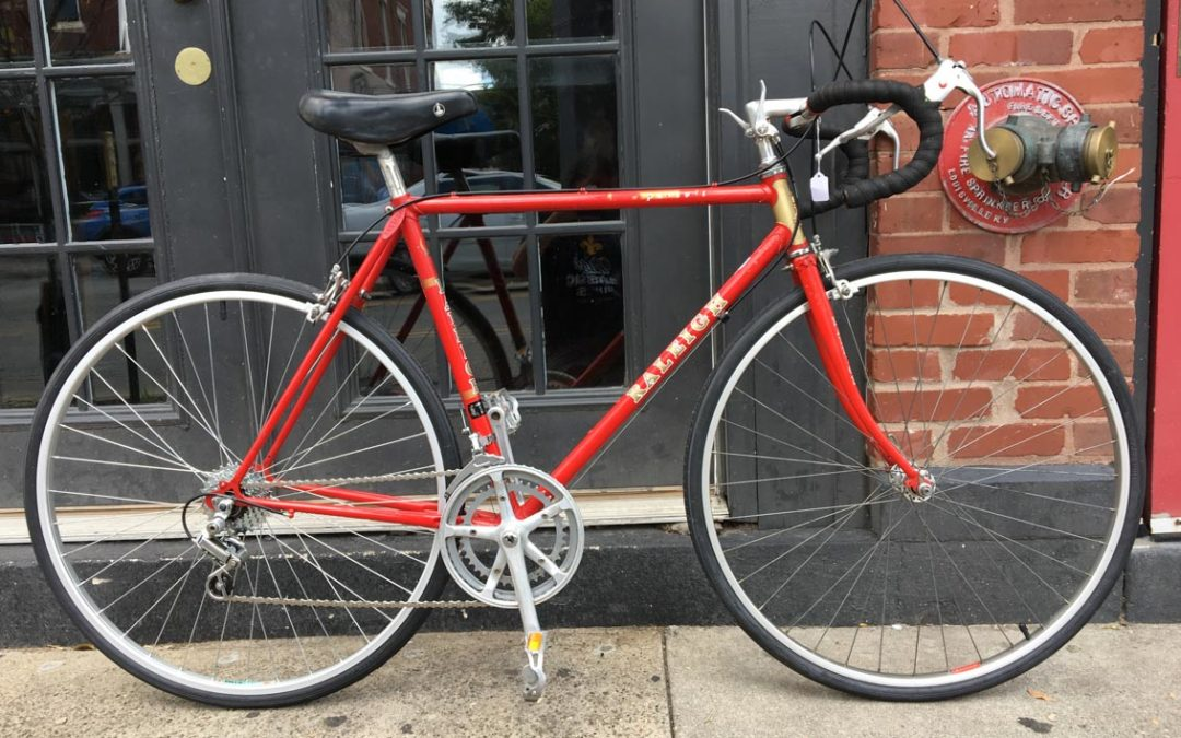Raleigh Pursuit 58cm Red Vic S Classic Bikes